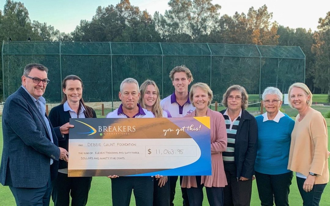 Breakers helps Debbie Gaunt Foundation raise funds for doctor training
